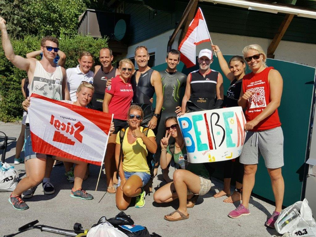 Ironman Zell am See 2016 the Club